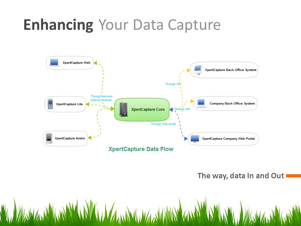 Enhancing Your Data Capture The way, data In and Out