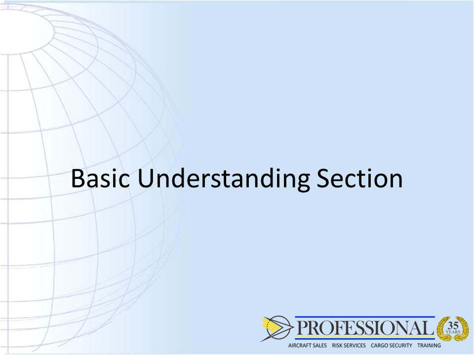 Basic Understanding Section