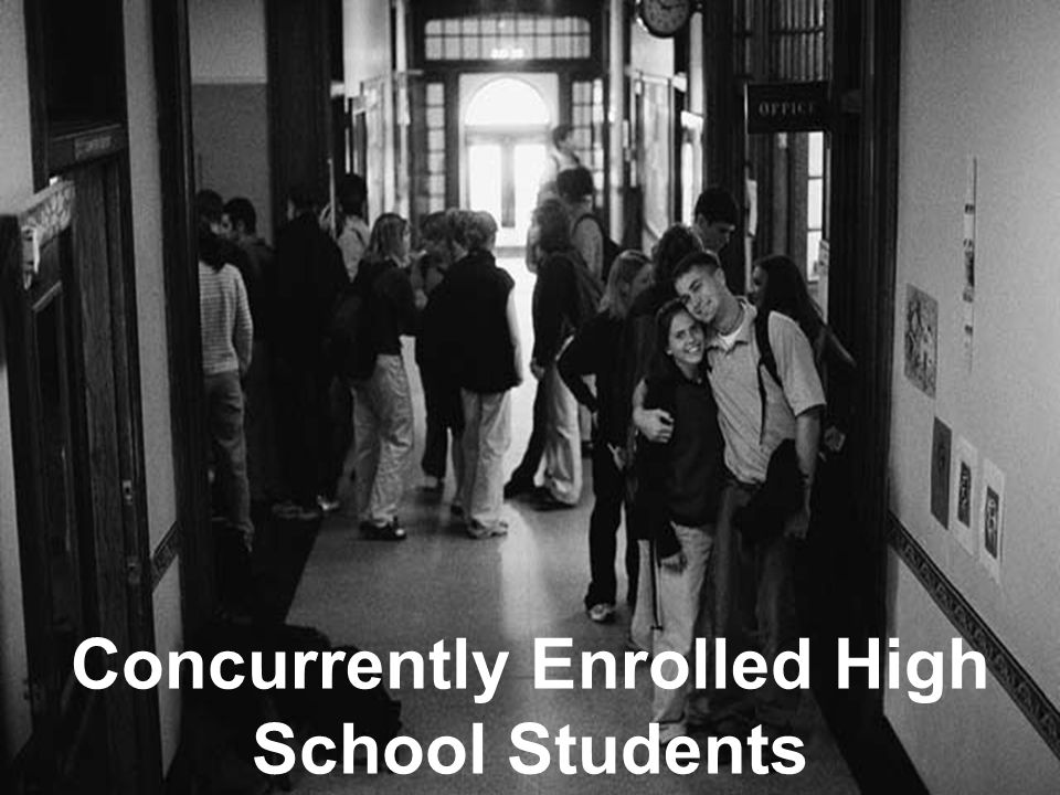 Concurrently Enrolled High School Students