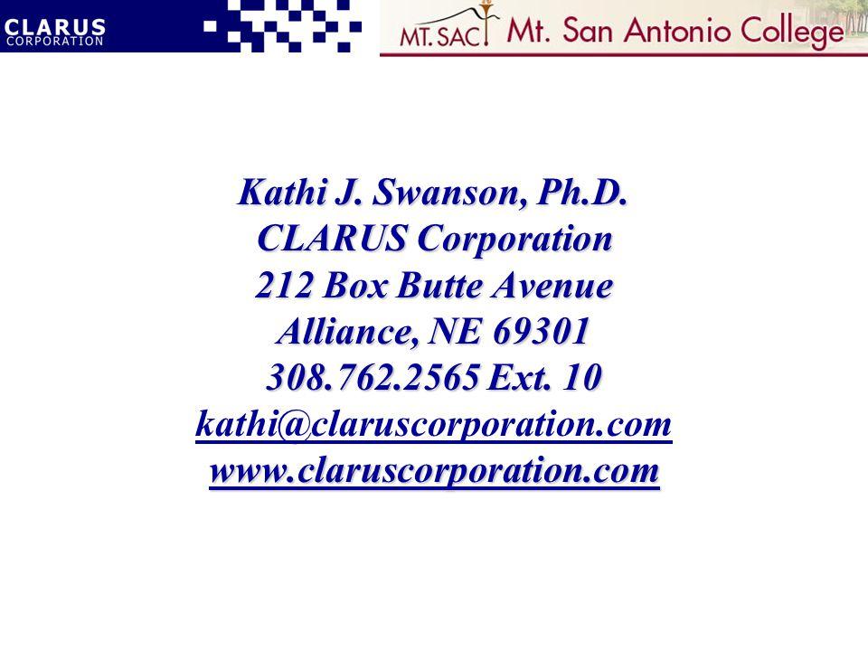Kathi J. Swanson, Ph.D.