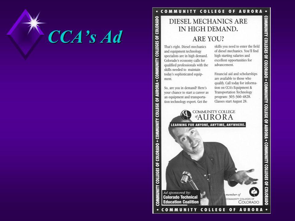 CCA's Ad
