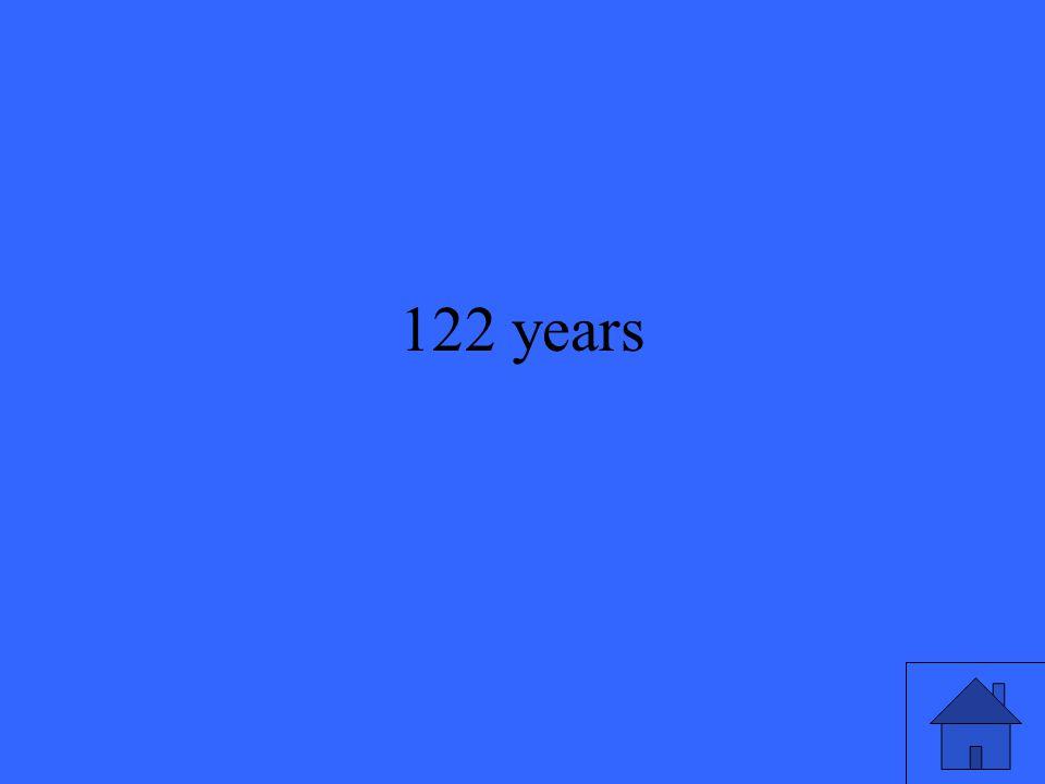 122 years