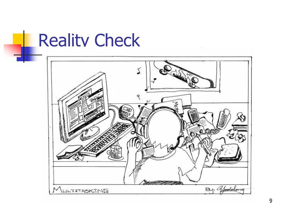 9 Reality Check