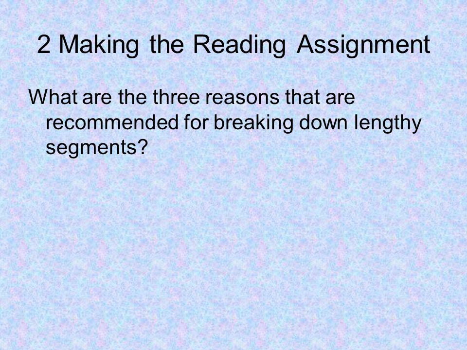 Deciding How Reading Will Be Done What is Independent Silent Reading Describe Teacher Read-Alouds What is the advantage of Reading in Groups True or False, Round Robin Oral Reading is highly recommended by research.
