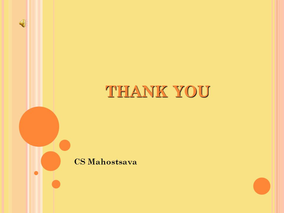 CS Mahostsava THANK YOU