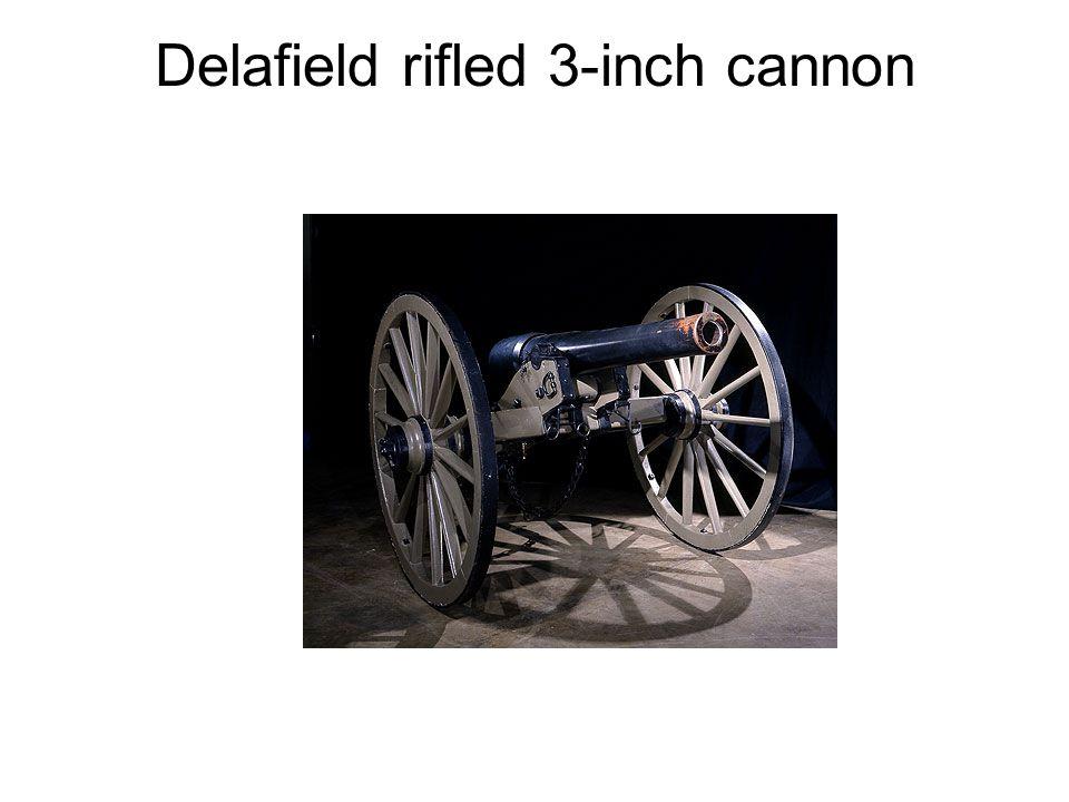 Delafield rifled 3-inch cannon