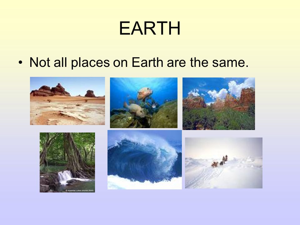 BIOME / ECOSYSTEM Our Earth's major life zones.A Biome is a place on Earth.