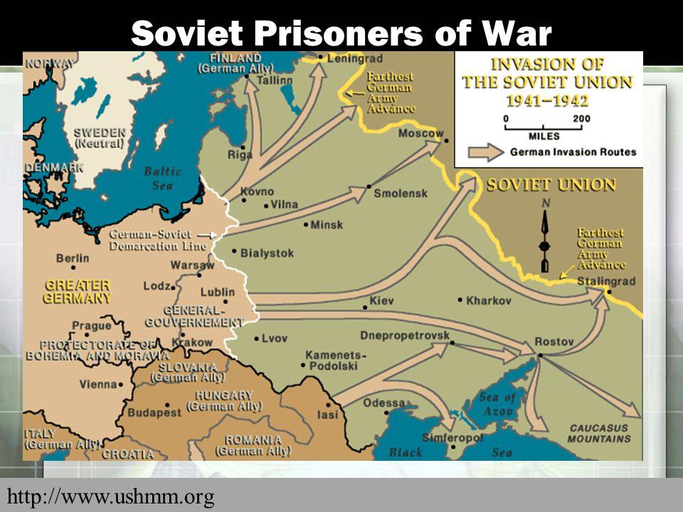 Soviet Prisoners of War http://www.ushmm.org