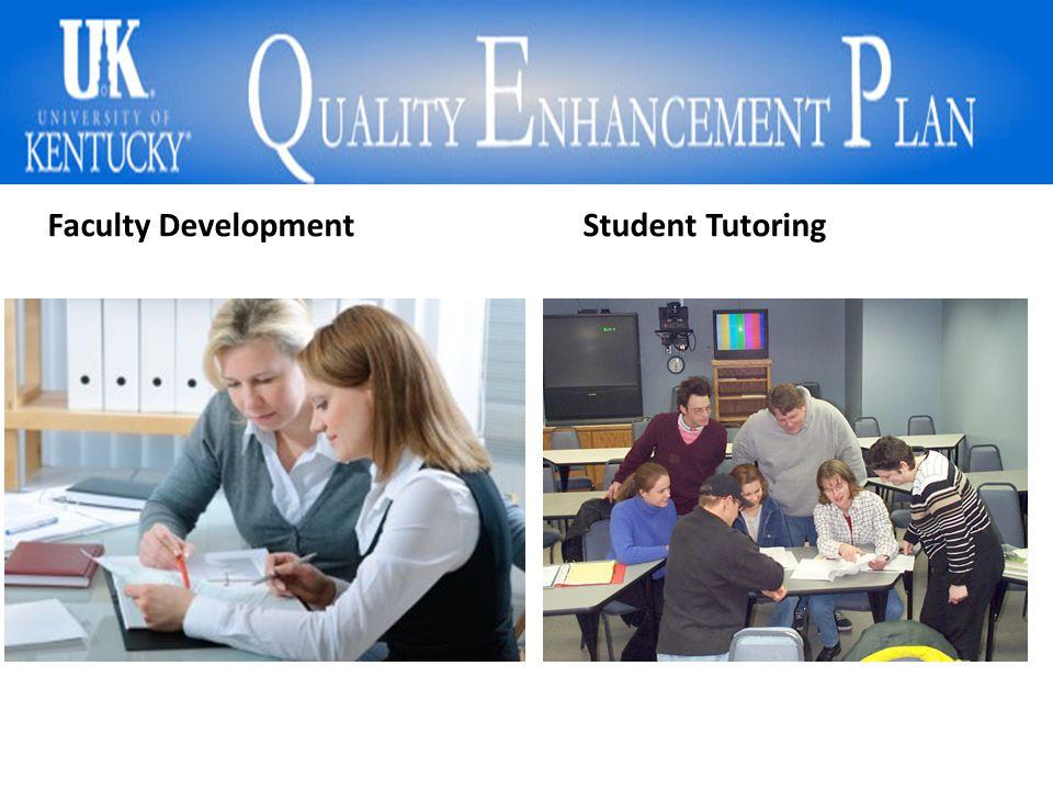 Faculty DevelopmentStudent Tutoring