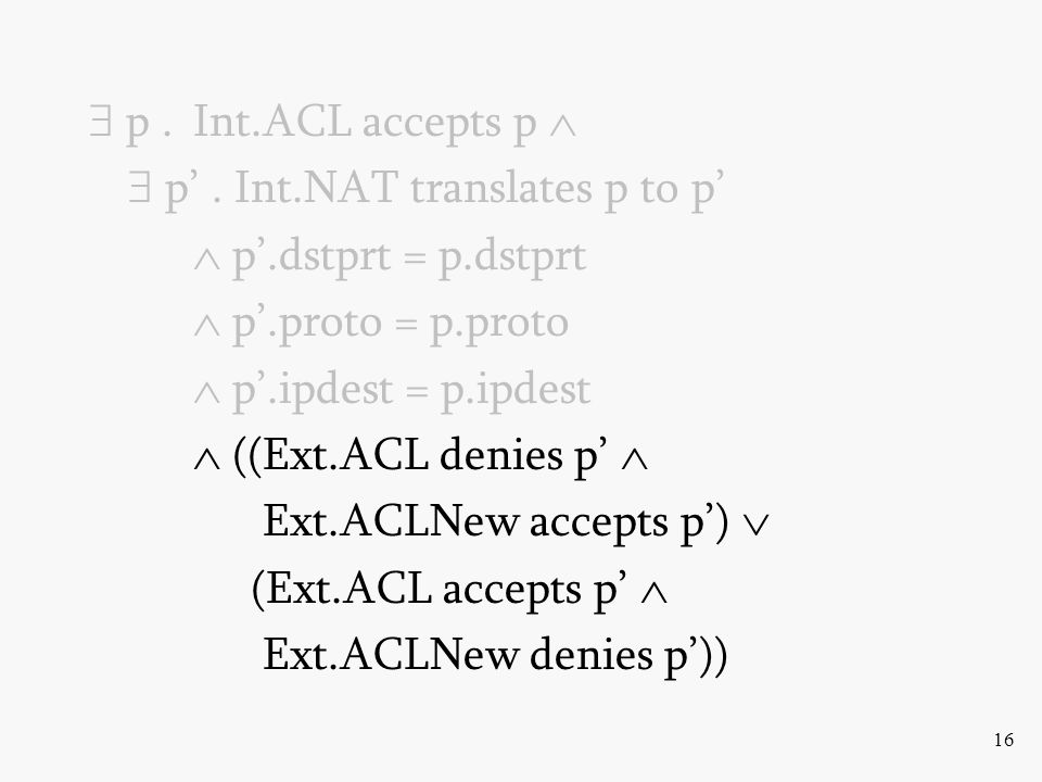 16  p.Int.ACL accepts p   p'.
