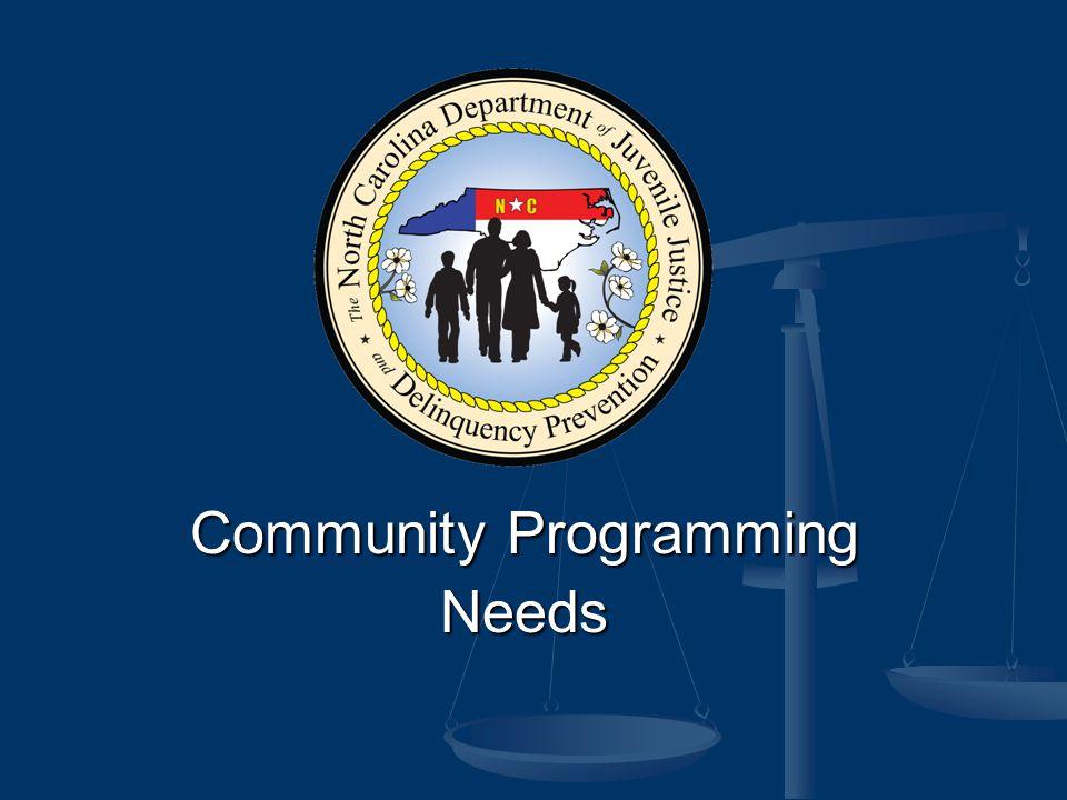 Community Programming Needs