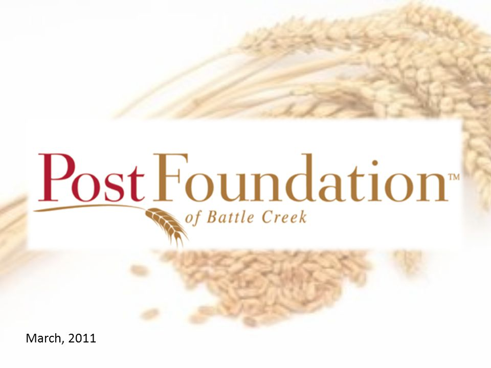 What is the Post Foundation.