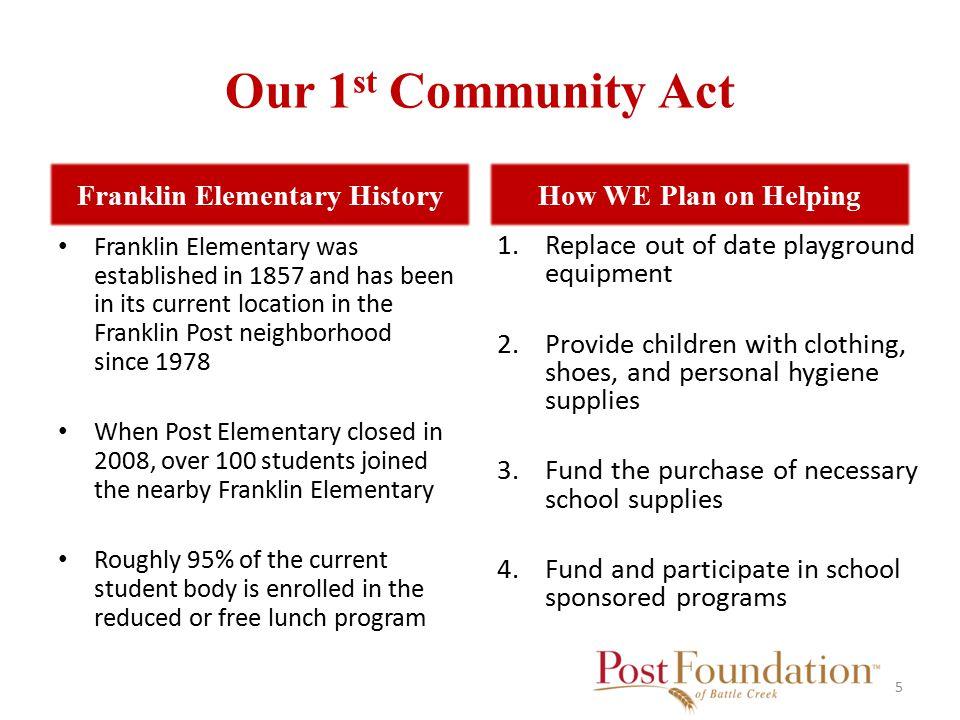 Franklin Elementary 6