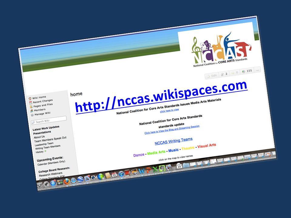 http://nccas.wikispaces.com