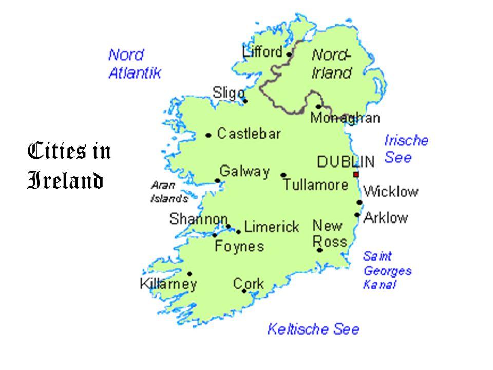 Cities in Ireland