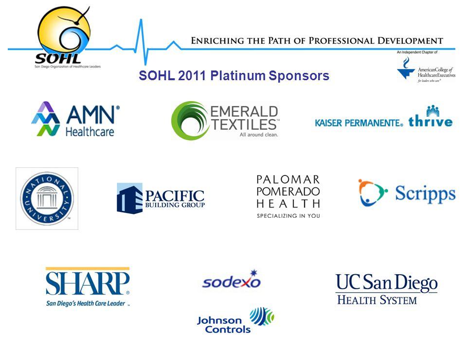 SOHL 2011 Platinum Sponsors