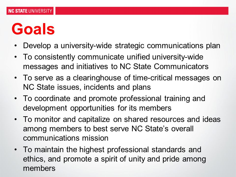 Initial Situation Analysis Lack of coordinated communications planning has led to redundant efforts, scattered messaging and inconsistent brand messages Campus-wide plan will help achieve maximum results with limited resources and ensure institutional efforts are aligned with the university's overall goals and objectives