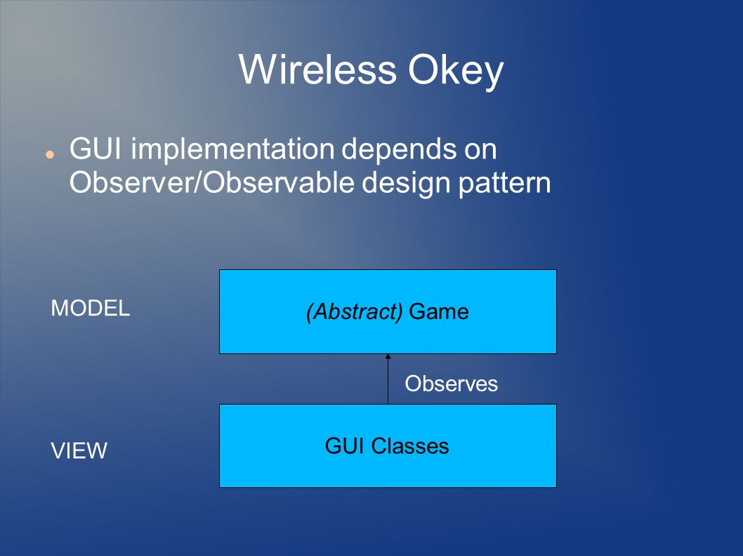 Wireless Okey How to check a cue.