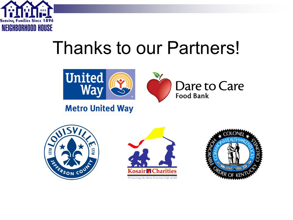 Thanks to our Partners!