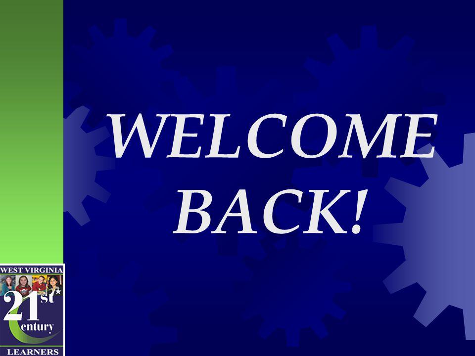 We've been looking forward to your return!