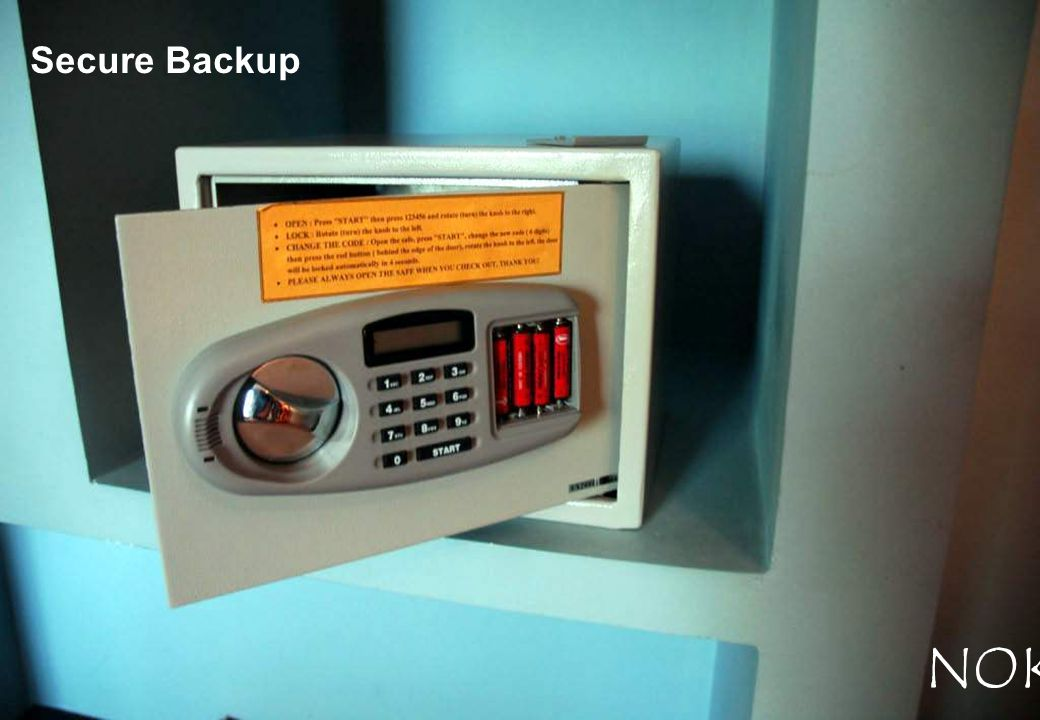 Secure Backup NOKIA