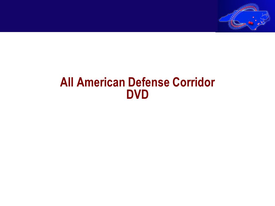 All American Defense Corridor DVD