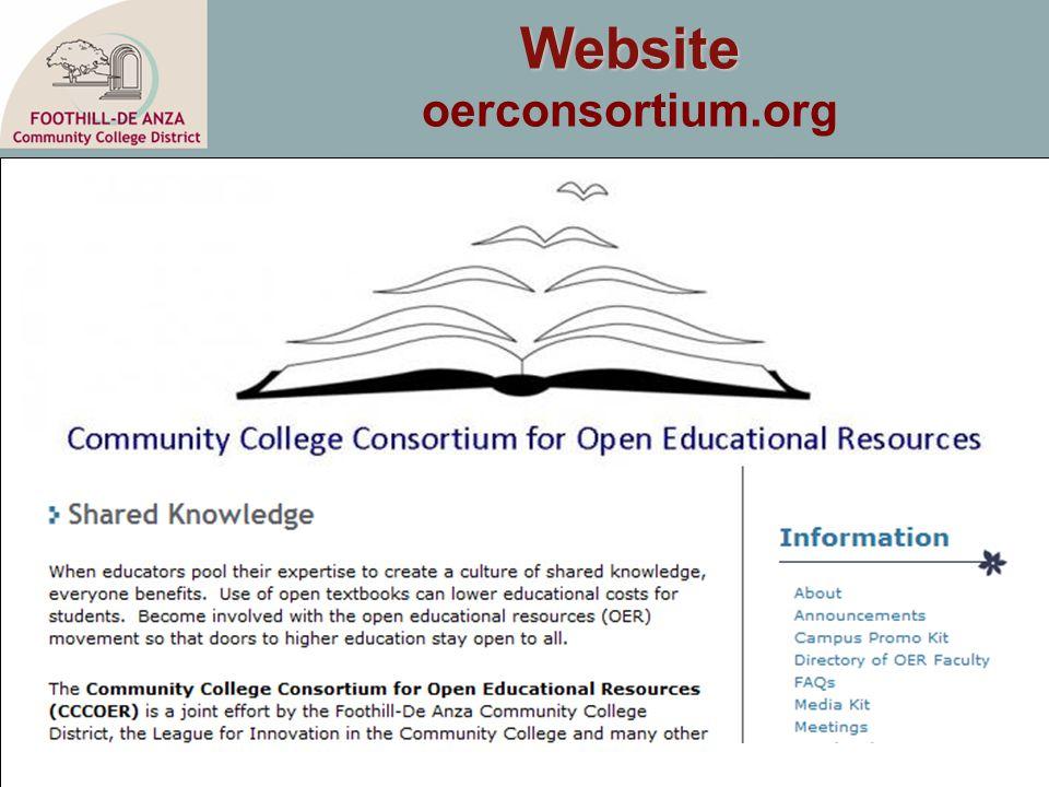Website Website oerconsortium.org