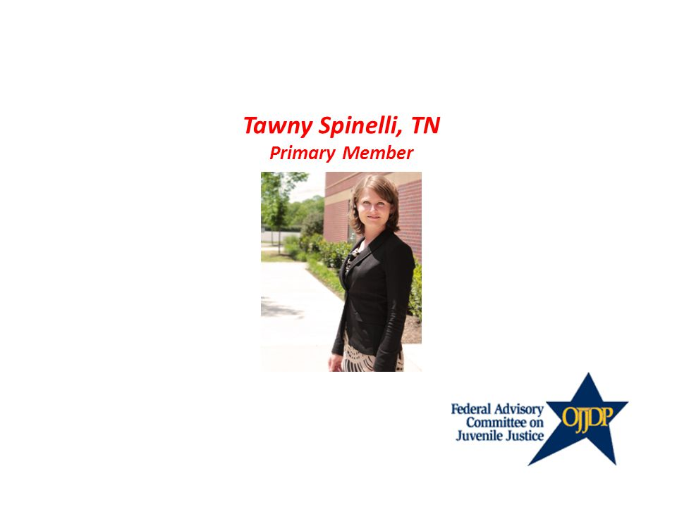 Tawny Spinelli, TN Primary Member