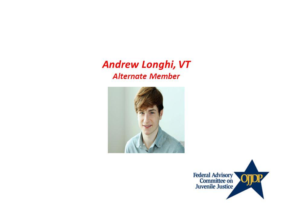 Andrew Longhi, VT Alternate Member