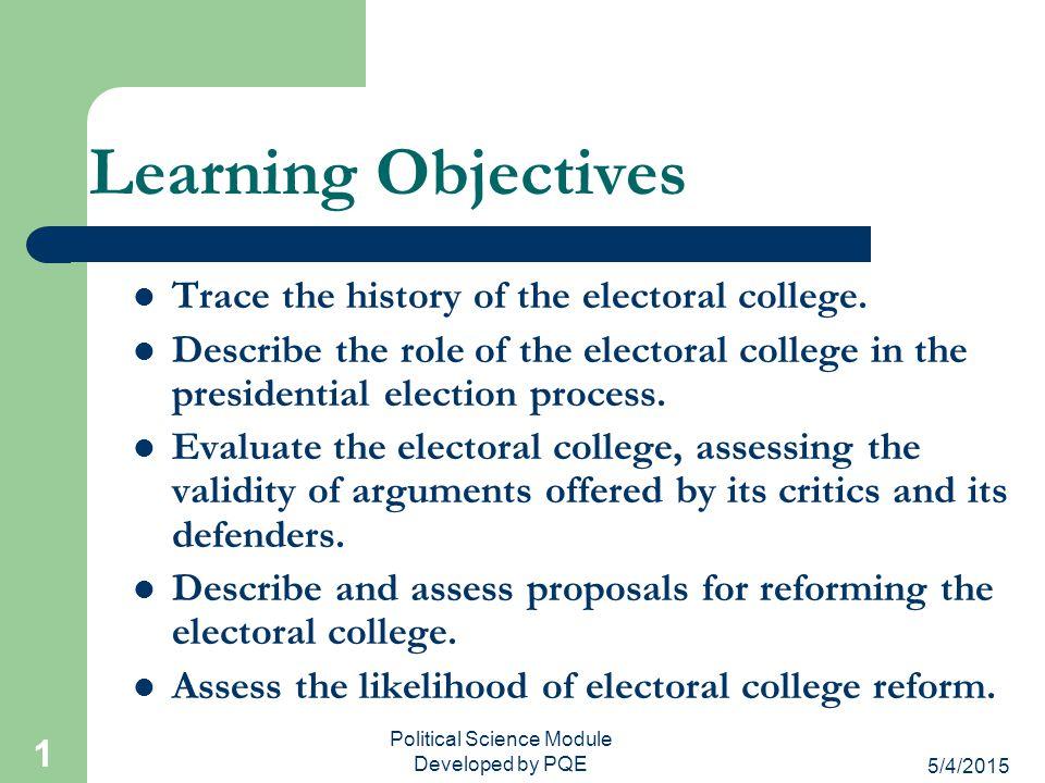 5/4/2015 31 Proposals for Reform Eliminate electors but still count electoral votes.