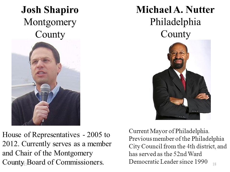 17 PA 2008 and 2012 Electors: 21, pledged to Barack Obama and Joe Biden: Lynne Abraham Philadelphia County Christopher Lewis Chester County John S. Br