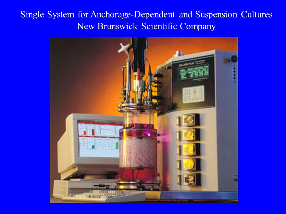 Single System for Anchorage-Dependent and Suspension Cultures New Brunswick Scientific Company