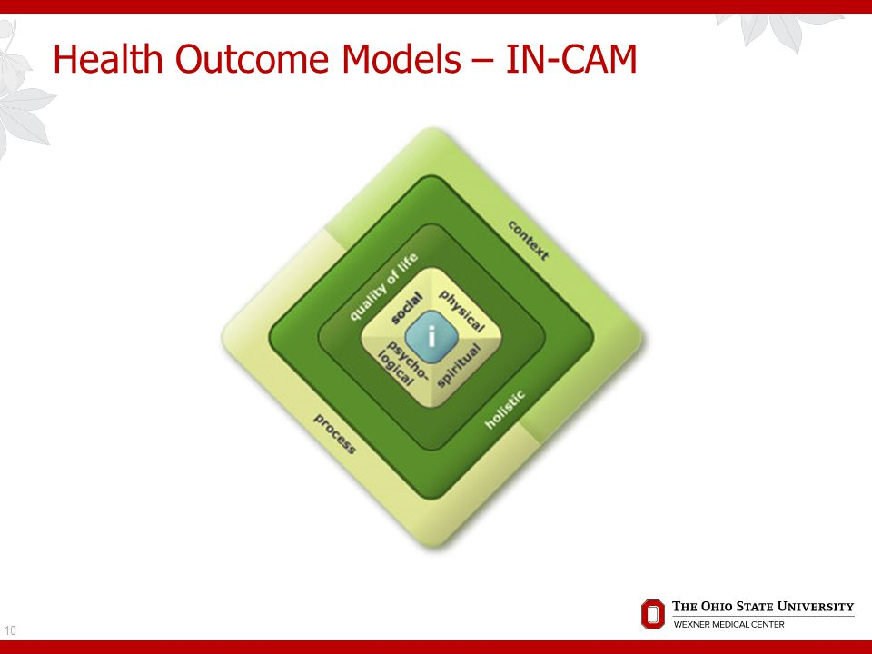 Health Outcome Models – IN-CAM 10