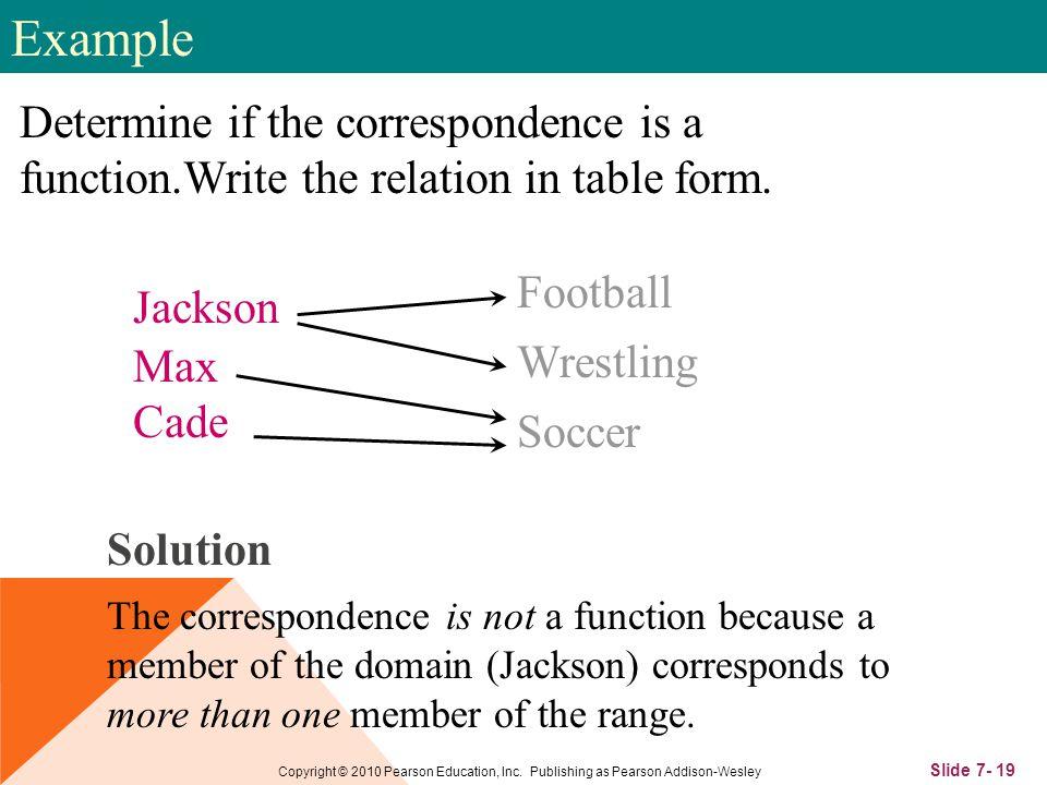 Slide 7- 19 Copyright © 2010 Pearson Education, Inc.