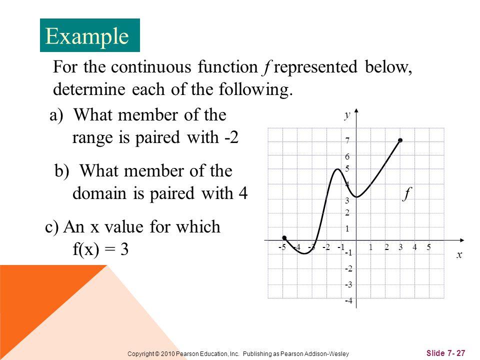 Slide 7- 27 Copyright © 2010 Pearson Education, Inc.