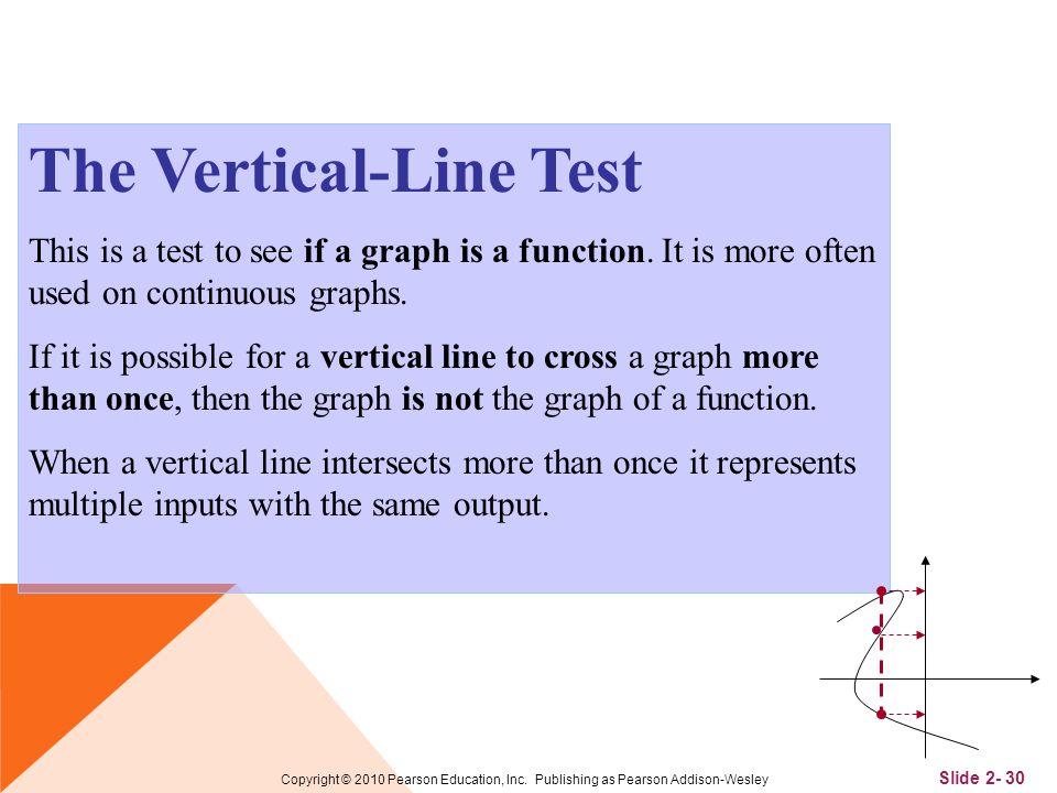 Slide 2- 30 Copyright © 2010 Pearson Education, Inc.