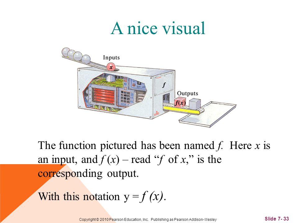 Slide 7- 33 Copyright © 2010 Pearson Education, Inc.