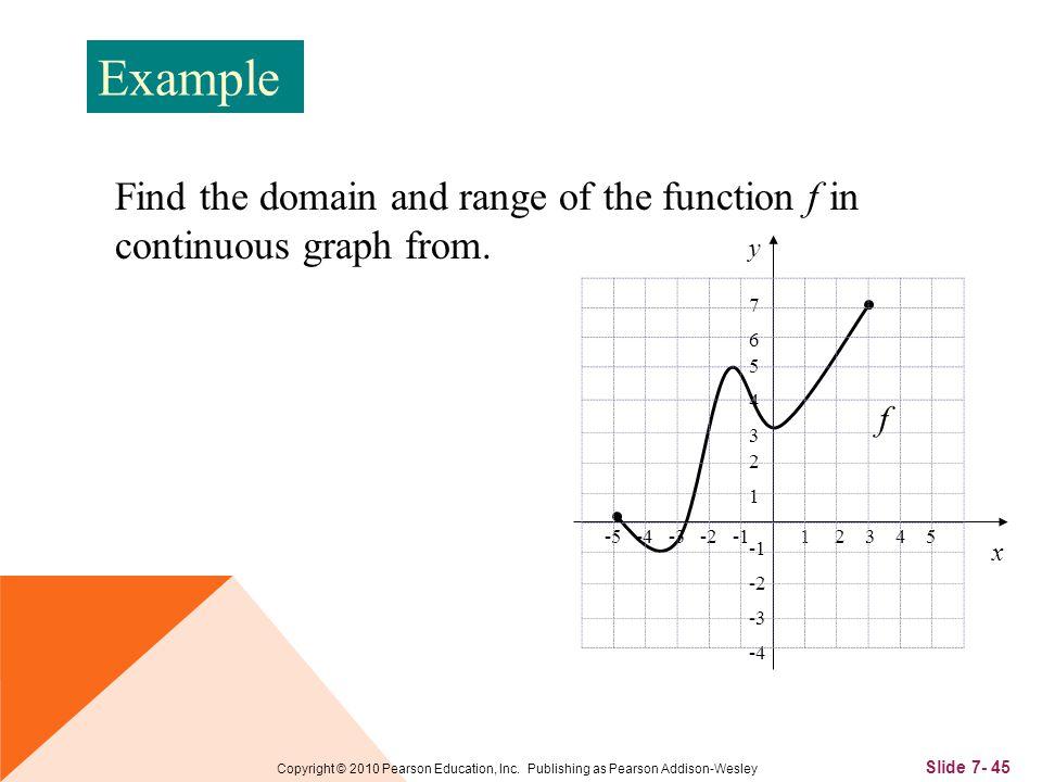 Slide 7- 45 Copyright © 2010 Pearson Education, Inc.