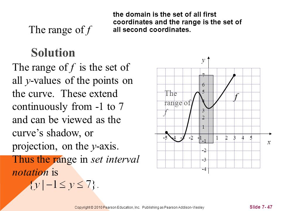 Slide 7- 47 Copyright © 2010 Pearson Education, Inc.