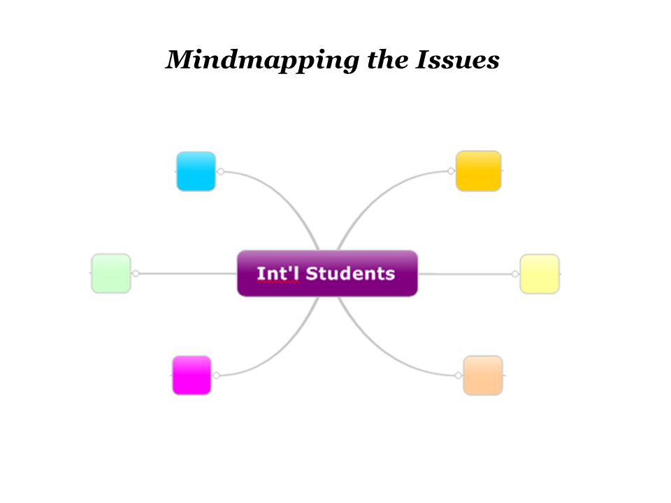 Mindmapping the Issues