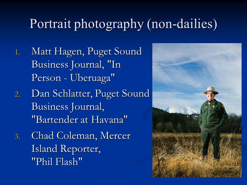 Portrait photography (non-dailies) 1.
