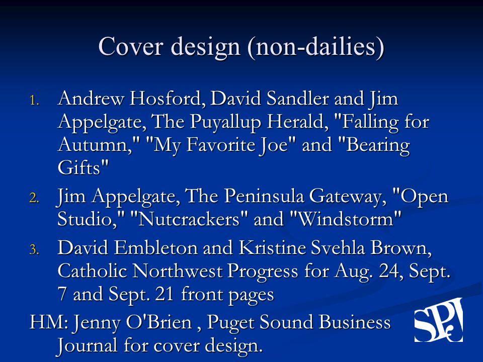 Cover design (non-dailies) 1.