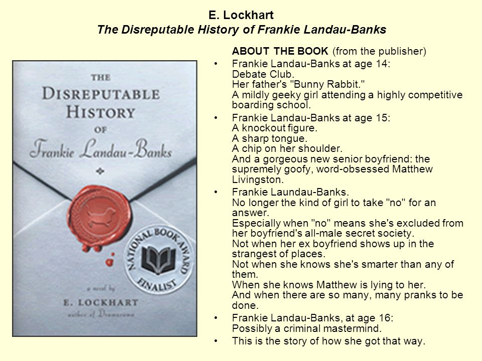 Judy Blundell What I Saw and How I Lied ABOUT THE AUTHOR Judy Blundell has written books for middle grade, young adult, and adult readers under severa