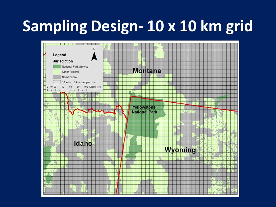 Sampling Design- 10 x 10 km grid