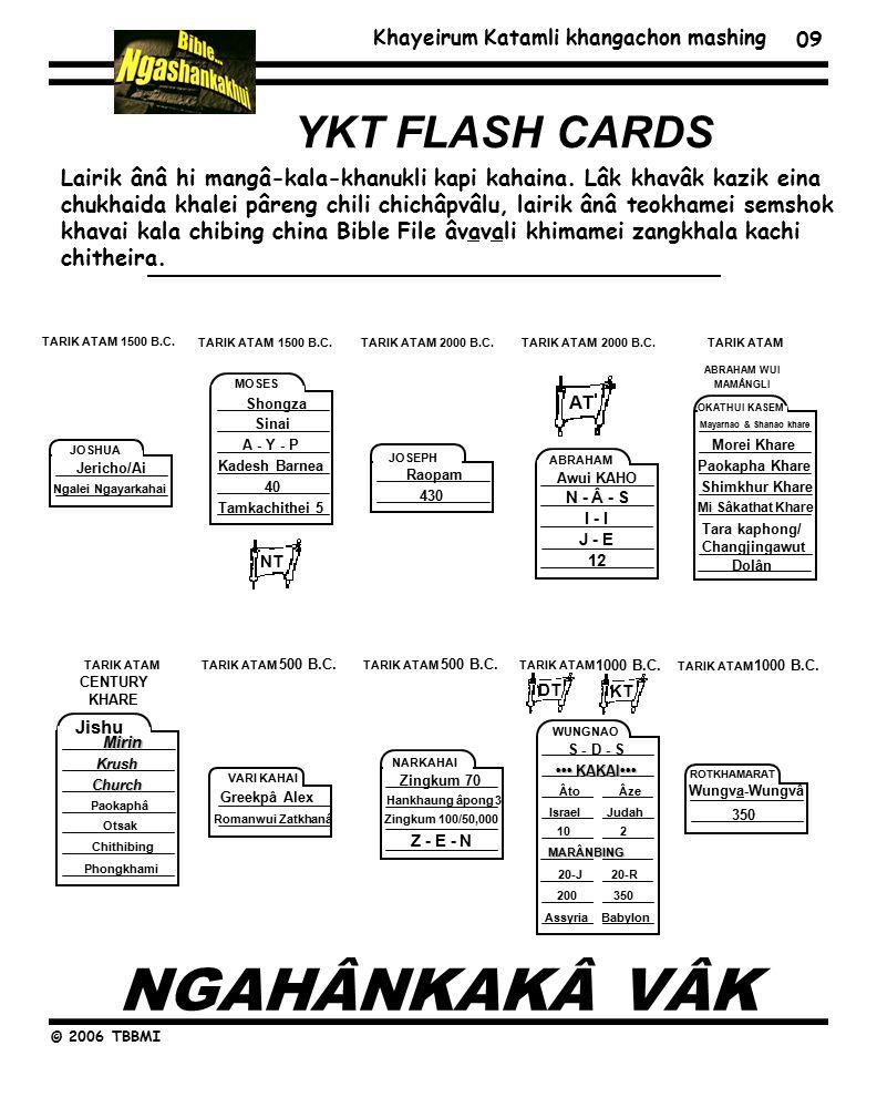 Khayeirum Katamli khangachon mashing © 2006 TBBMI 1500 B.C.