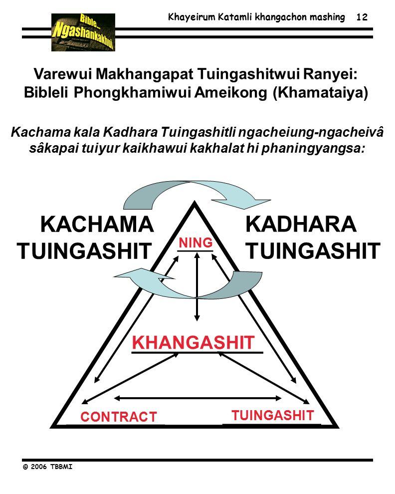 Khayeirum Katamli khangachon mashing © 2006 TBBMI 12 ___________ ____ ___________ KACHAMA TUINGASHIT KADHARA TUINGASHIT Varewui Makhangapat Tuingashitwui Ranyei: Bibleli Phongkhamiwui Ameikong (Khamataiya) Kachama kala Kadhara Tuingashitli ngacheiung-ngacheivâ sâkapai tuiyur kaikhawui kakhalat hi phaningyangsa: TUINGASHIT NING CONTRACT KHANGASHIT