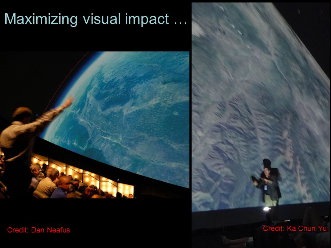 Maximizing visual impact … Credit: Dan Neafus Credit: Ka Chun Yu