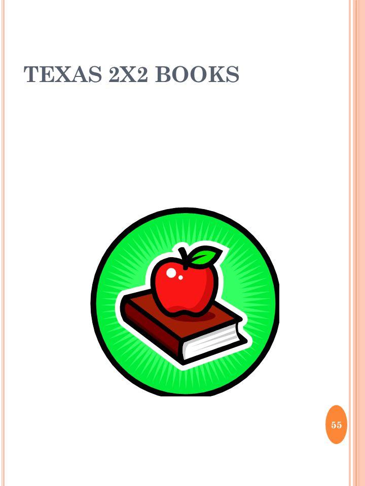TEXAS 2X2 BOOKS 55