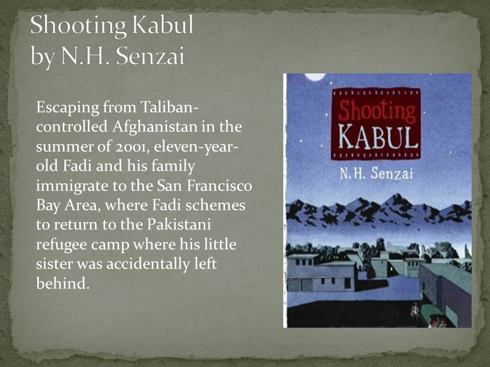 Escaping from Taliban- controlled Afghanistan in the summer of 2001, eleven-year- old Fadi and his family immigrate to the San Francisco Bay Area, where Fadi schemes to return to the Pakistani refugee camp where his little sister was accidentally left behind.