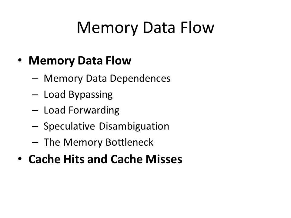 Cache Miss Rates: 3 C's [Hill] Compulsory miss – First-ever reference to a given block of memory – Cold misses = m c : number of misses for FA infinite cache Capacity – Working set exceeds cache capacity – Useful blocks (with future references) displaced – Capacity misses = m f - m c : add'l misses for finite FA cache Conflict – Placement restrictions (not fully-associative) cause useful blocks to be displaced – Think of as capacity within set – Conflict misses = m a - m f : add'l misses in actual cache